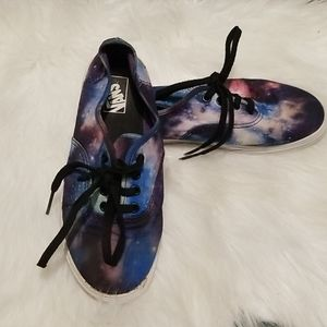 Vans Youth Galaxy Sneakers Size 2.5
